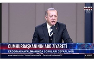 مواضع جدید اردوغان درباره ایران و سوریه