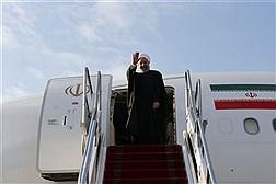 بدرقه رییس جمهور پیش از ترک تهران به مقصد سوچی