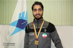 دانشجوی دانشگاه آزاد اسلامی رشت قهرمان مسابقات کاراته ۲۰۱۷ جهان شد