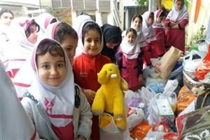 ارسال کمکهای اهدایی دانش آموزان، دانشجویان و کارکنان سما به غرب کشور