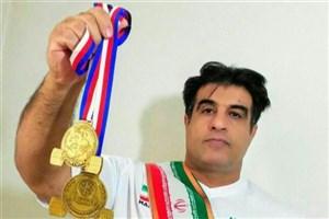 دانشجوی دانشگاه آزاد اسلامی شهر قدس قهرمان پاورلیفتینگ جهان شد