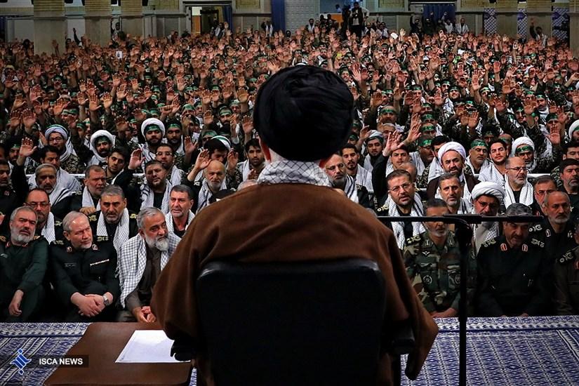 دیدار بسیجیان با مقام معظم رهبری