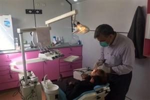 خدمات دندانپزشکی سپاه  به زلزلهزدگان
