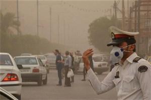 افزایش غلظت گردوغبار در آسمان اردبیل