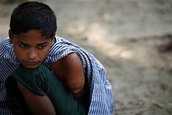 چهره های خسته و غم بار مسلمانان روهینگیا