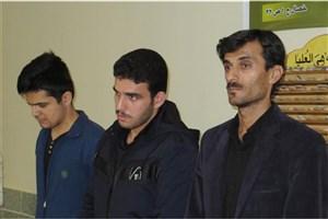 گرامیداشت والدین سه دانشجوی واحد علیآباد کتول