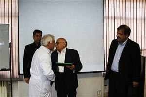 دکتر محمود عامریون به عنوان ریاست جدید بیمارستان امیرالمومنین (ع) منصوب شد