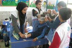 آموزش اطفای حریق و برگزاری مانور زلزله در سما شیروان