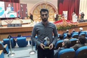 درخشش دانشجوی دانشگاه آزاد واحد بندرانزلی در مسابقات قرآن و عترت