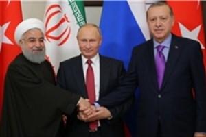 اردوغان: هر ۱۵ روز با روحانی و پوتین دیدار می کنم