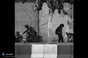 اجرای گشت شبانه شناسایی و ساماندهی افراد بی خانمان در مرکز تهران