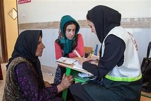 ویزیت رایگان بیماران در مناطق محروم شهرستان ایرانشهر
