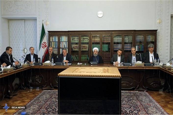 دیدار اعضای شورای شهر تهران با دکتر روحانی