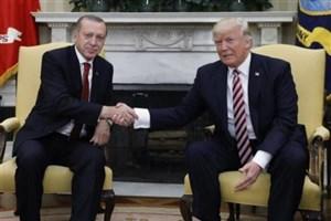 گفتگوی تلفنی اردوغان و ترامپ درباره سوریه و نشست سوچی