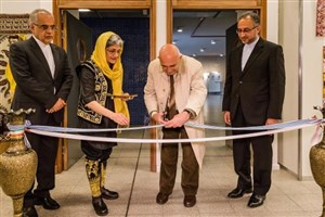 برپایی نمایشگاه برای معرفی فرهنگ وتمدن ایرانی در دانشگاه اروگوئه