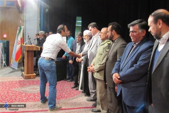 اختتامیه نخستین جشنواره استانی نمایش های آیینی مذهبی بسیج در شاهرود