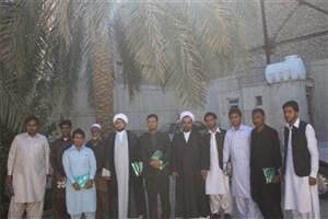 دیدار دانشجویان واحد سراوان با مسئول نمایندگی نهاد رهبری در امور اهل سنت این شهرستان