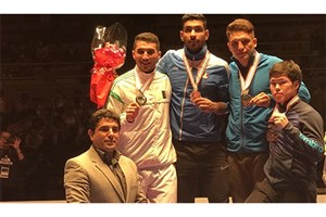 کاراته ایران نایب قهرمان لیگ جهانی ژاپن شد