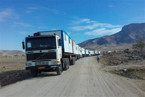 وزارت دفاع ۳۰۰ کانکس به مناطق زلزلهزده کرمانشاه اهدا کرد