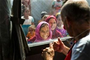 لبخند کودکان عراق بعد از سال ها رنج
