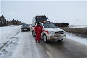 ۱۰ استان تحت تاثیر برف/ امدادرسانی به ۲۸۷۰ نفر