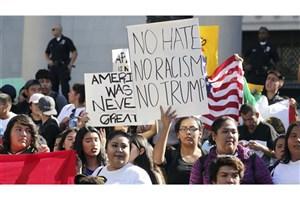 موج اعتراضات دانش آموزان بدهکار علیه ترامپ!