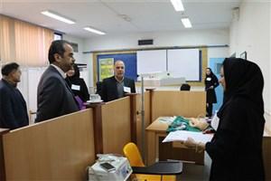 برگزاری آزمون بالینی OSCE  دانشجویان رشته مامایی برای نخستین بار در دانشگاه آزاد بجنورد