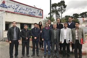 بازدید اعضای هیات علمی واحد علی آباد کتول از شرکت پخش فرآوردههای نفتی