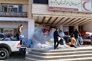 ارسال دومین مرحله کمک رسانی دانشگاهیان واحد میانه به زلزله زدگان کرمانشاه