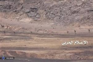 هدف قرار گرفتن خودرو مزدوران سعودی در یمن