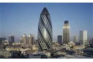 برج گرکین لندن بسته شد