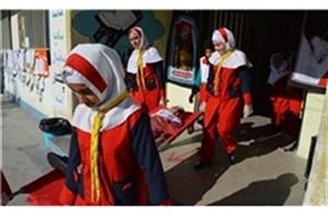 مدارس ایمن در برابر زلزله/نوزدهمین مانور سراسری زلزله و ایمنی مدارس آغاز شد