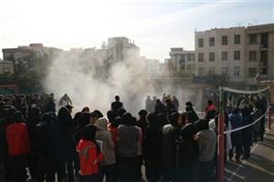 اجرای مانور زلزله در مدارس /آموزش دانش آموزان برای مواجه  شدن با زلزله