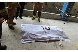 کارگر 22 ساله ازارتفاع 9 متری ساختمان  شهرک غرب سقوط کرد و جان باخت