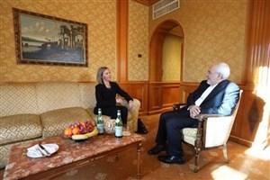 ظریف با موگرینی دیدار کرد
