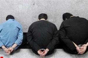دستگیری سارقان خودرو با ۲۰ فقره سرقت در اسلامشهر