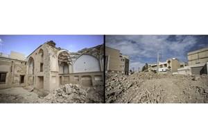 برج تاریخی گزک فروریخت