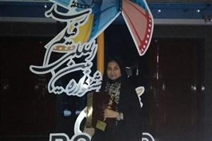 رتبه نخست دانش آموز بوشهری در جشنواره بین المللی فیلم رشد