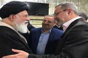 وزیر آموزش و پرورش با آیت الله علم الهدی دیدار کرد