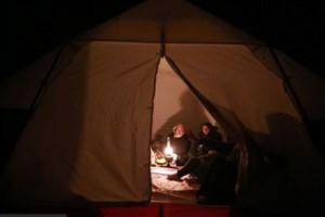 گاز گرفتگی سه زن کرمانی در چادر با گاز ذغال