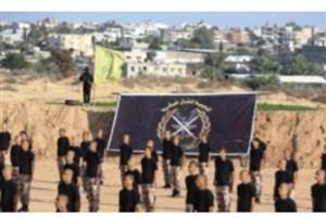 افتتاح نخستین پادگان نظامی گردانهای شهدای الاقصی در غزه + تصویر