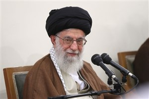 رهبر معظم انقلاب در منزل شهید حدادیان حضور یافتند