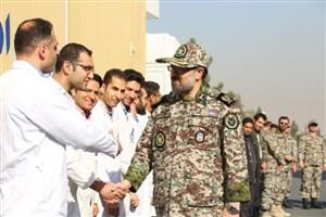 ارائه خدمات درمانی رایگان به مردم در رزمایش امداد و درمان ارتش