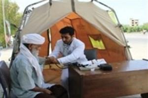 ارایه خدمات درمانی پدافند هوایی ارتش در منطقه عشایرنشین بیرجند