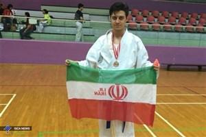 کسب مقام سوم مسابقات کاراته قهرمانی آسیا توسط  دانشجوی دانشگاه آزاد اسلامی