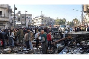 15 شهید و مجروح در انفجار تروریستی حمص