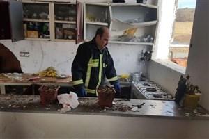 انفجار گاز در روستای بیدک بجنورد ۴ مصدوم برجای گذاشت