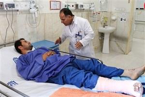 ۲۲۱ مصدوم زلزله کرمانشاه همچنان  بستری هستند/در مدت پس از زلزله 1830 عمل جراحی انجام شد