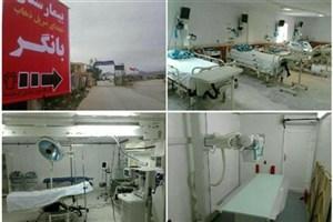 افتتاح بیمارستان جایگزین شهدای سرپل ذهاب