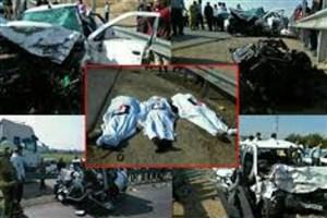 11 مصدوم در حوادث رانندگی جاده کرج - کندوان